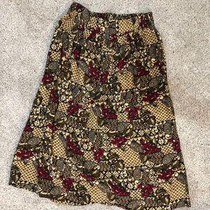 Fun Patterned Skirt